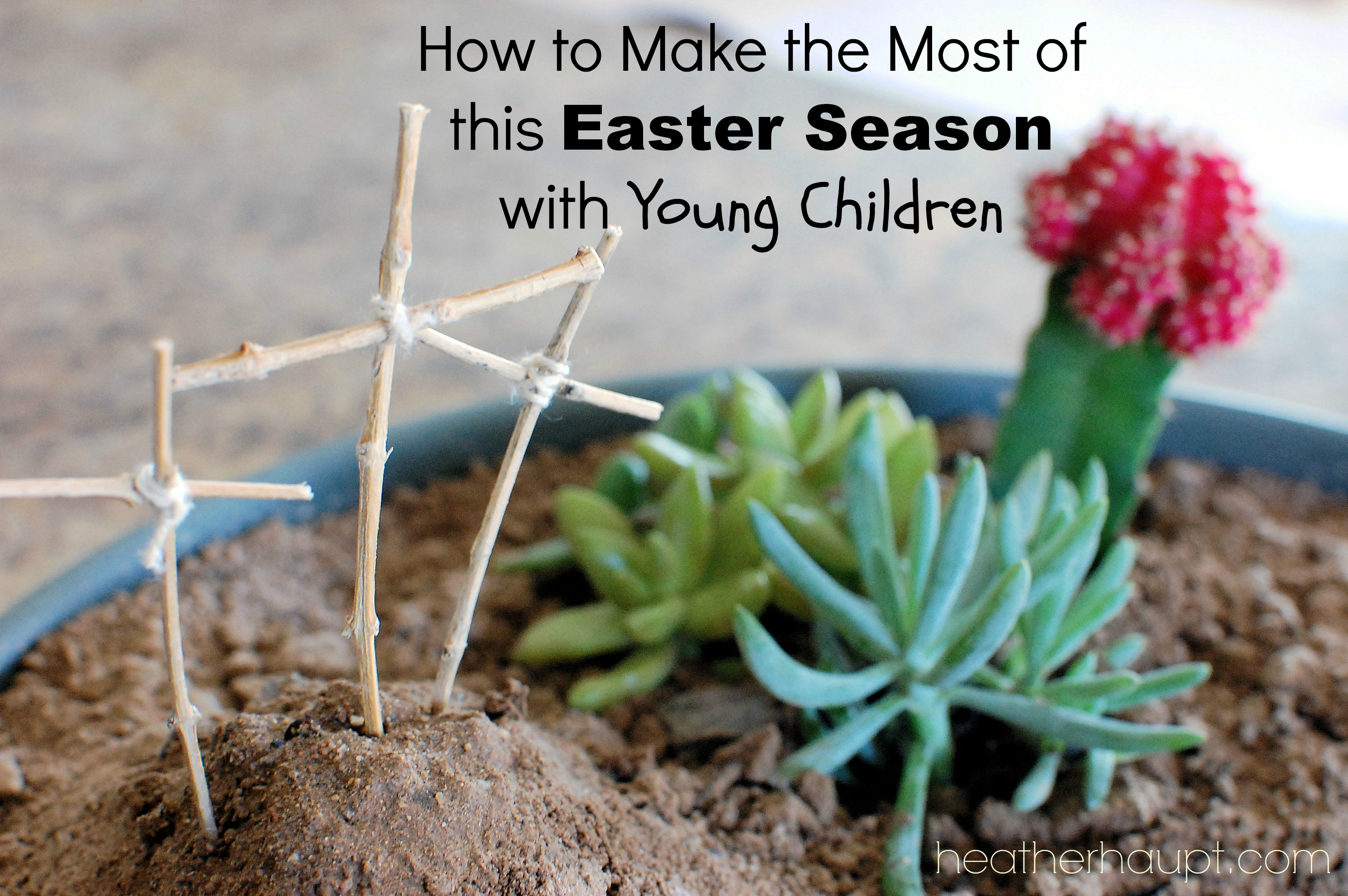 Tips and creative ideas to make such a deep topic relate-able to young children!