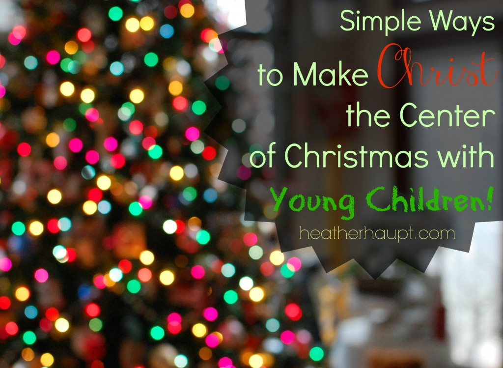 Making the most of this special Christmas season with our young children!