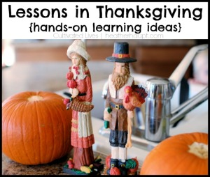 Thanksgiving Learning Fun