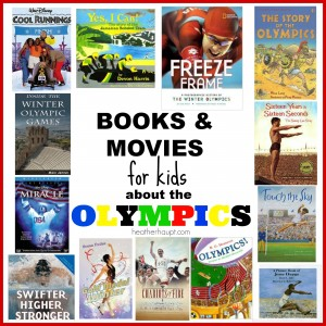 Olympic Ring Art + Book Ideas