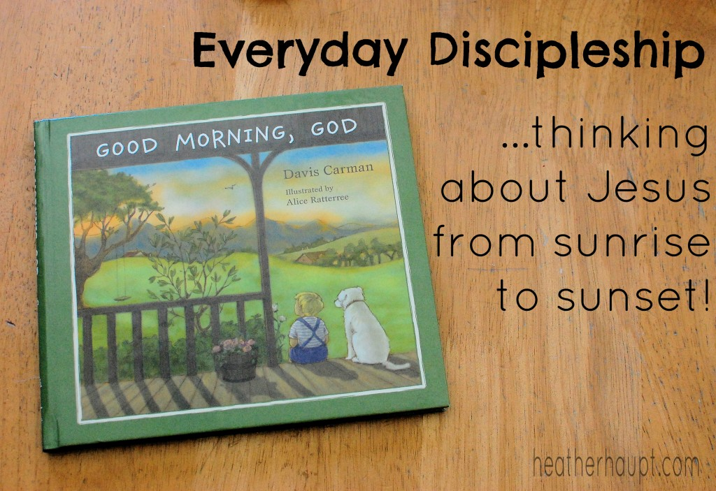 We can use the everyday things in life to draw close to Jesus and bring our children along too! | Cultivated Lives