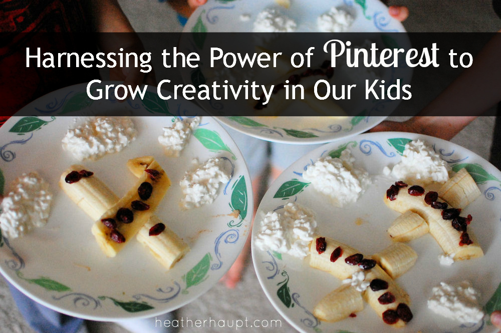 Tips for maximizing creativity development via pinterest projects for our kids!