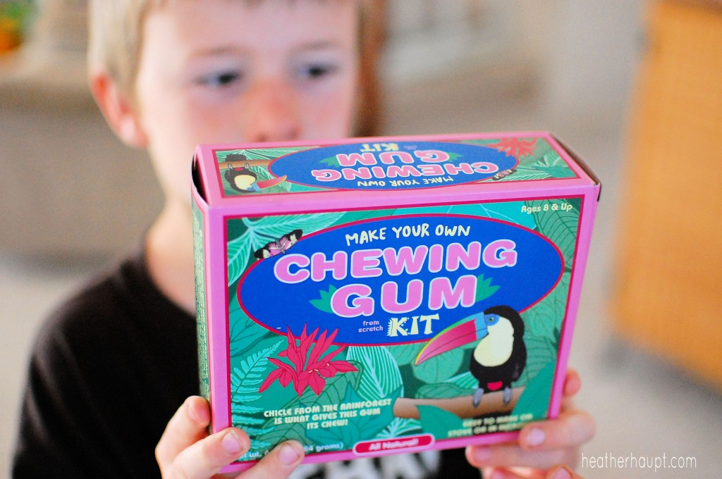 how to make your own homemade bubble gum