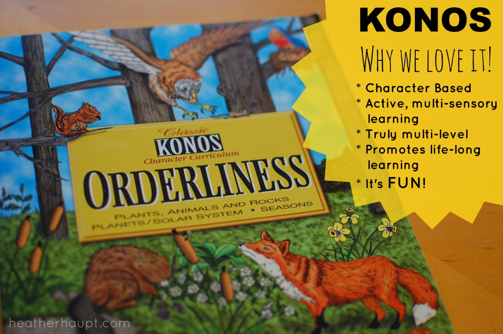 A review of KONOS - a multi-level, literature-based, movement rich unit study.