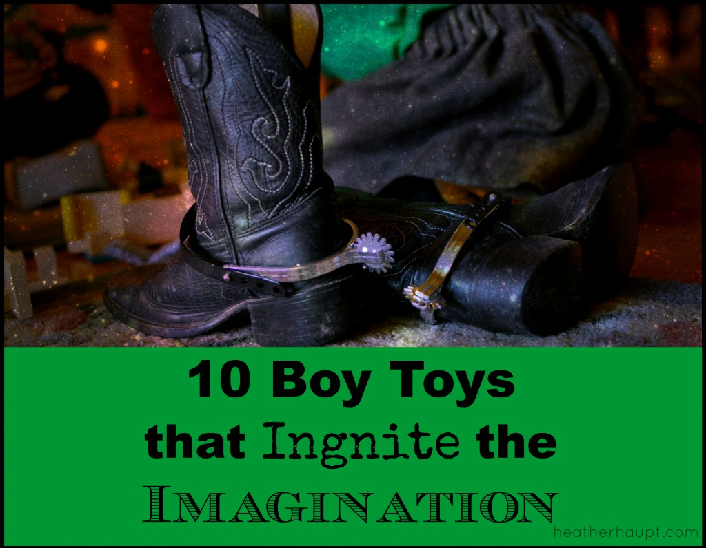 10 boy toys that ignite the imagination and lead to hours of creative pretend play!