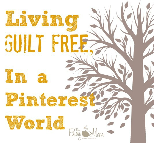 Yes, it's possible to live life - guilt free!  Pray and plan - even in the little things in life!