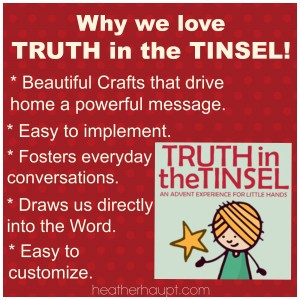 Truth in the Tinsel – What's New and Why We LOVE it!