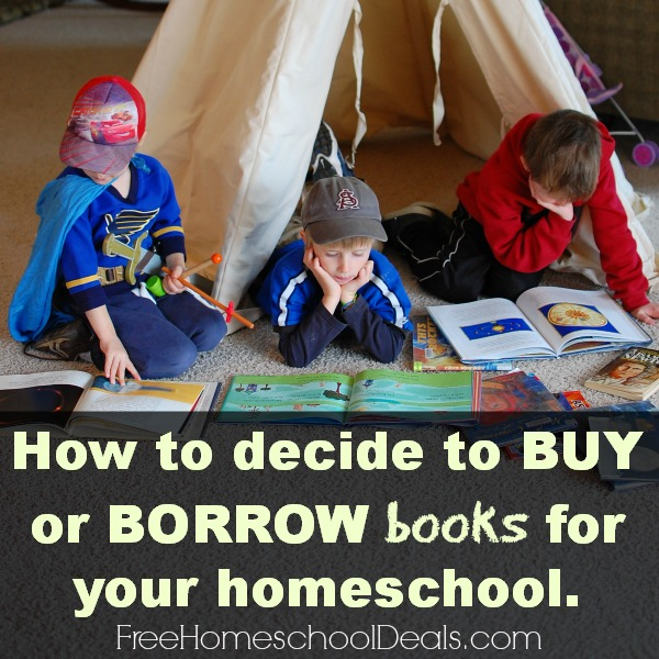 Books and Your Budget ~ Tips for deciding when to borrow and when to buy!