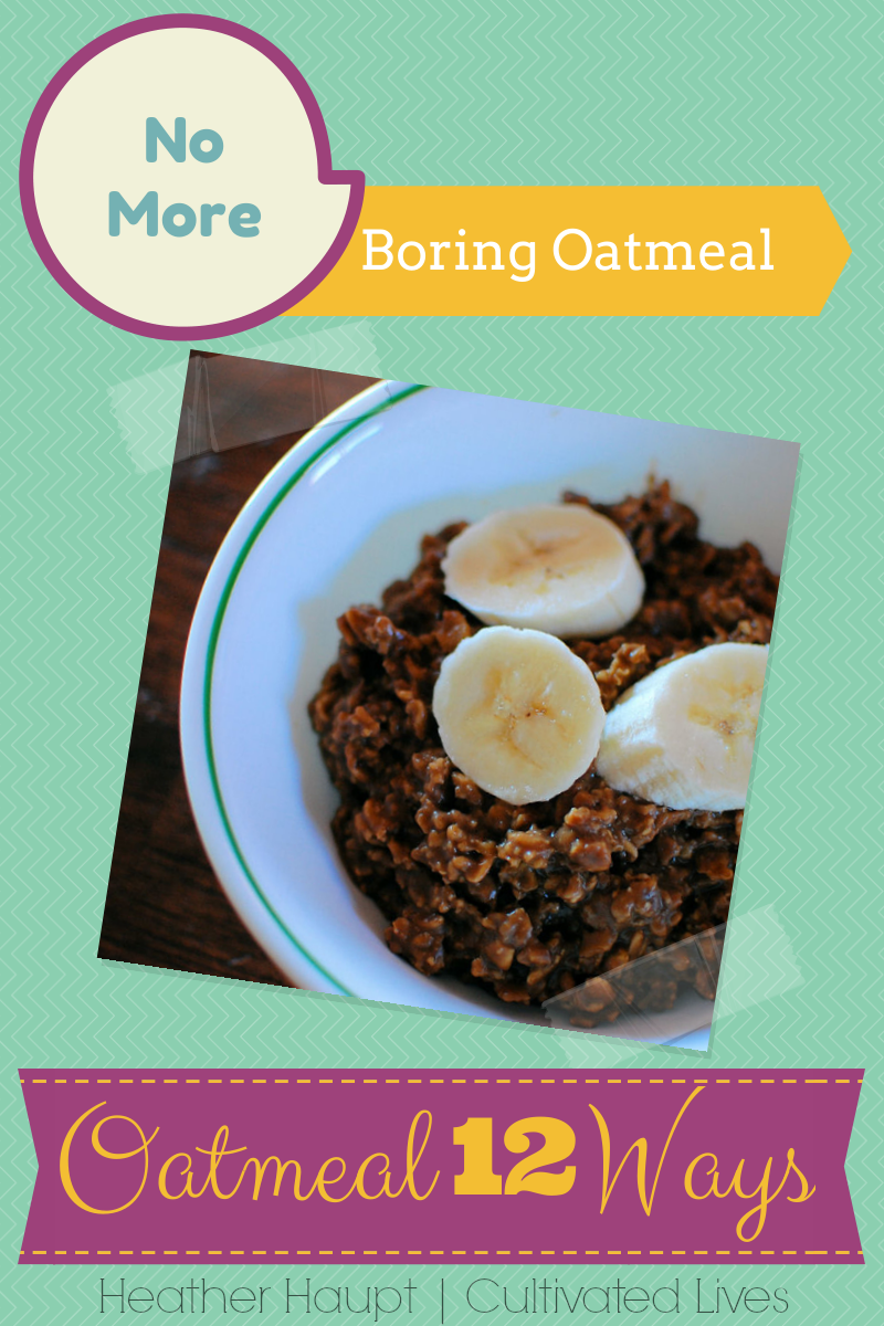 Creative ideas for mixing up the budget-friendly oatmeal routine!