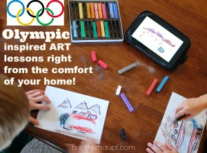 Afternoon Anticipations…  Art + Olympics!