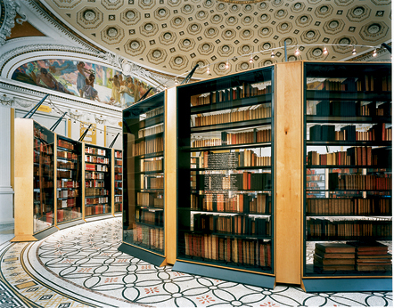 Thomas Jefferson's Library {Library of Congress}