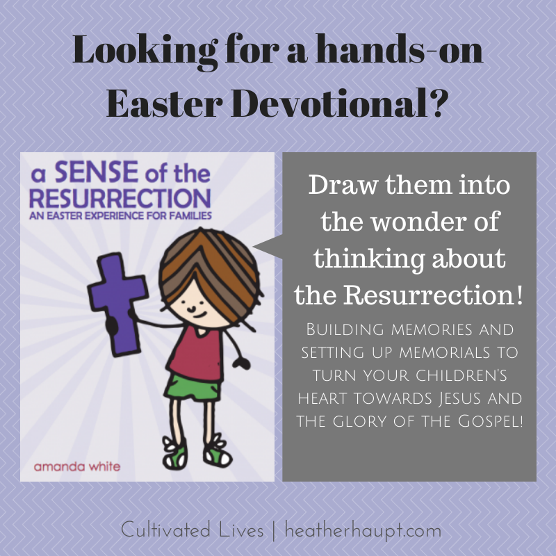 A wonderful resource for families to experience and talk about the death and resurrection of Jesus. #Easter