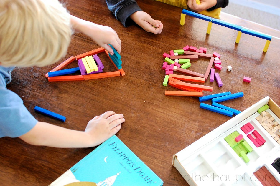 """Busy hands make for focused minds"" <- An important key to growing read-aloud time!"