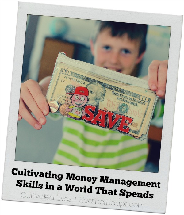 Giving the gift of money management skills! It's a gift that keeps on giving.