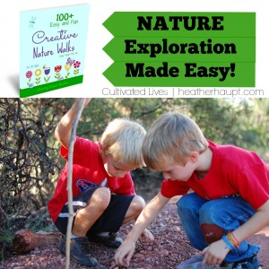 A fabulous resource for open-and-go Nature Walking with your children. 100+ easy and fun nature walk ideas!