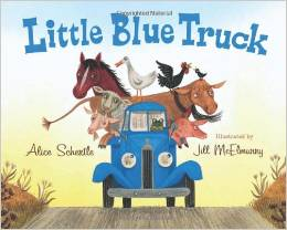 Little Blue Truck - perfect book for the 4 and under crowd.