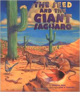 "The Seed and the Giant Saguaro - amazing book based on the ""This is the House that Jack Built"" theme."