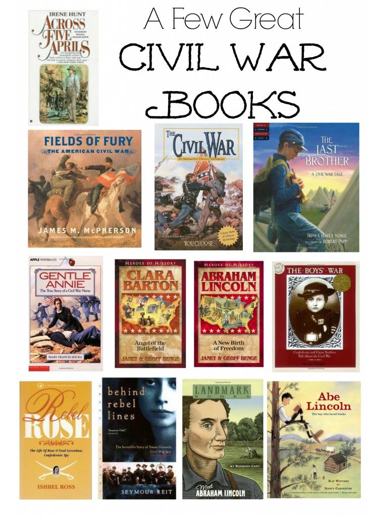 A few top books centered around the Civil War