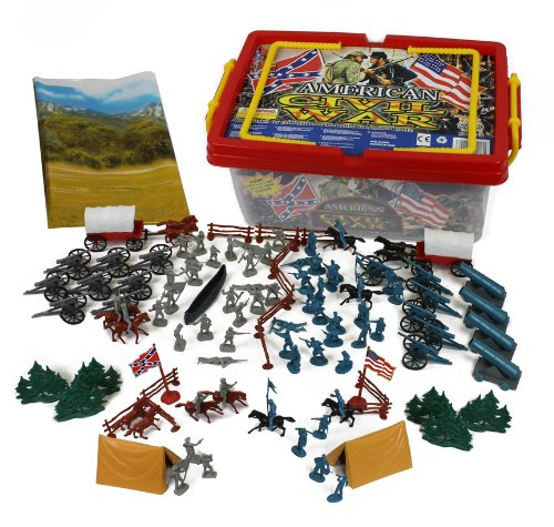 A fabulous Civil War figurine set to help map out major battles!