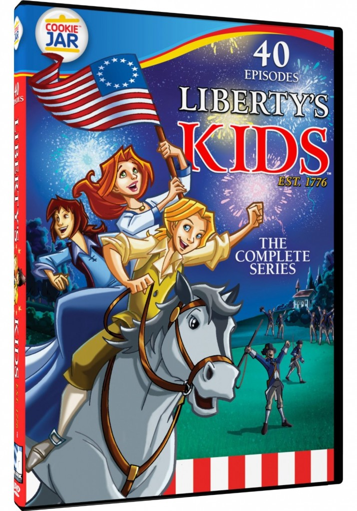 Liberty Kids DVD series. Only $5 for hours of historical entertainment.