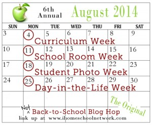 The NOT Back-to-School Hop 2014