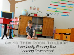 Room to Learn…  A peek into our learning spaces
