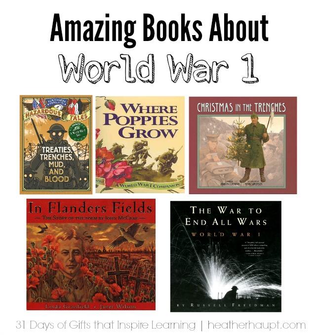 Inspiring books about World War 1
