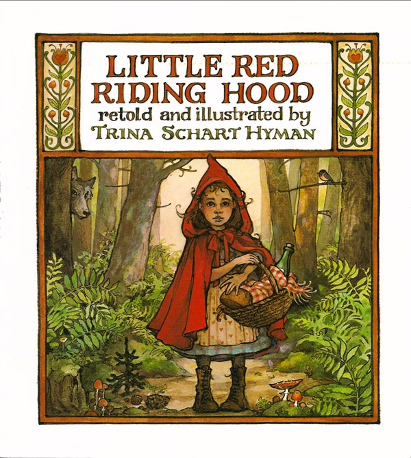 A Book and a DIY Gift Idea: Make a little red hood and give the gift of this darling book!