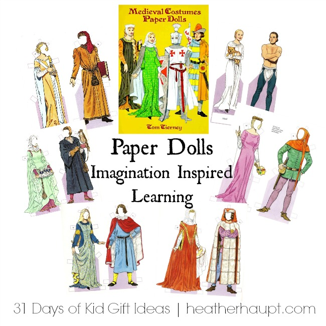 Gift Ideas for girls learning about the Middle Ages! Spark the Imagination! ~ Part of a 31 day series of gifts that inspire learning