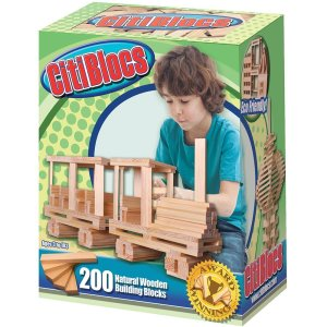 Citiblocks - the perfect blocks for older kids and adults!  Hours of creative play and building possibilities.