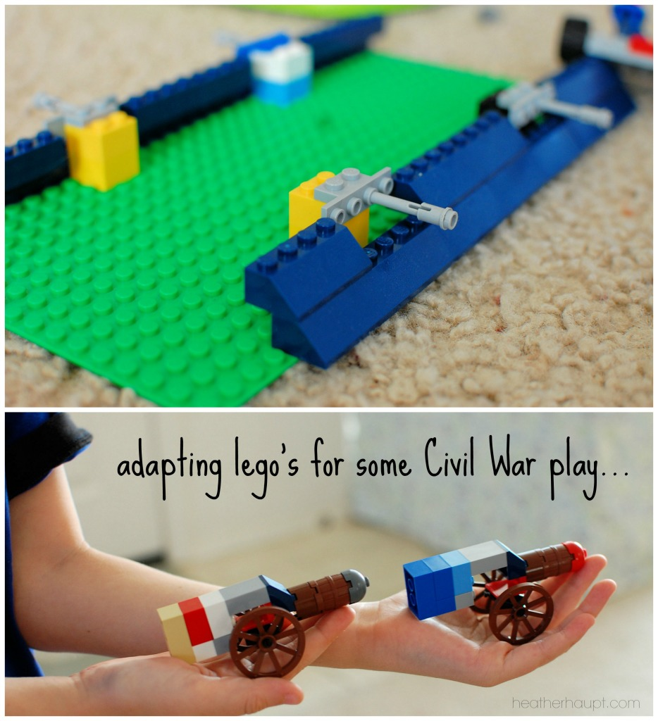 Lego's spark all kinds of creative play opportunities.