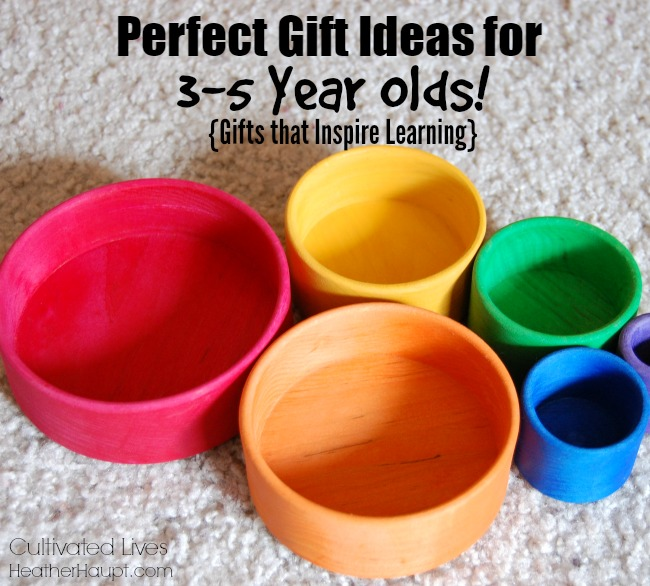 Perfect Gift Ideas for 3-5 Year Olds that Inspire Learning and Development