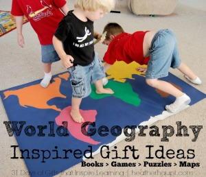 World Geography Inspired Gift Ideas