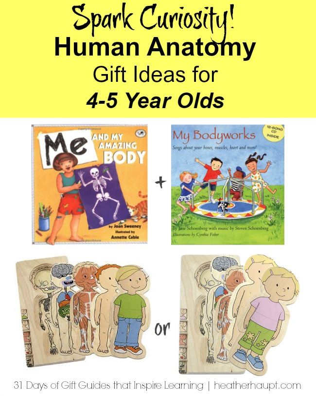 A beautiful way to learn about the human body in the early years!