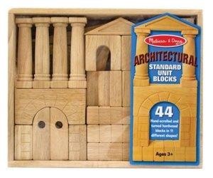 Melissa and Dough Architectural Standard Unit Blocks