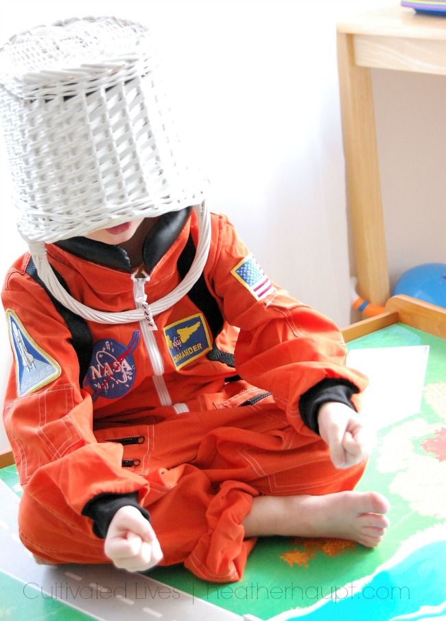 Amazing astronaut costume.  Pair it with a good book for a great gift combo!