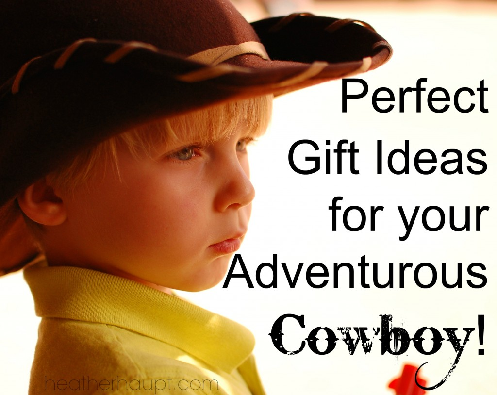Gift ideas for the boy in your life who is into cowboys!