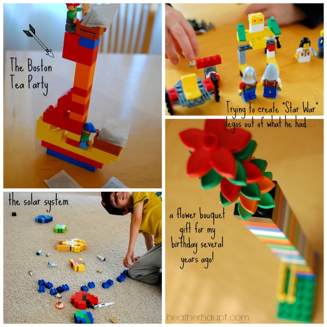 Lego's and Duplo's Inspire Creativity and are a great addition to your #homeschool!