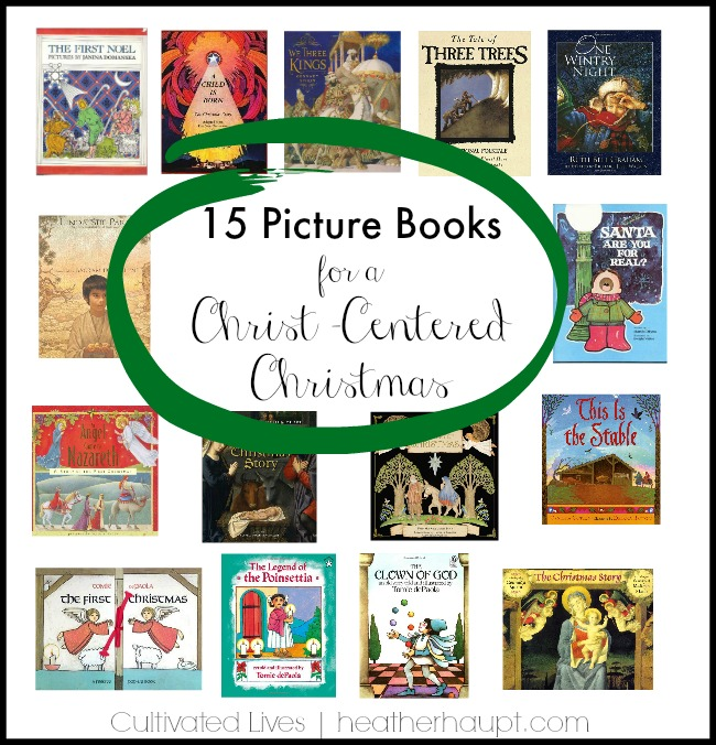 Beautiful picture books for the Christmas season
