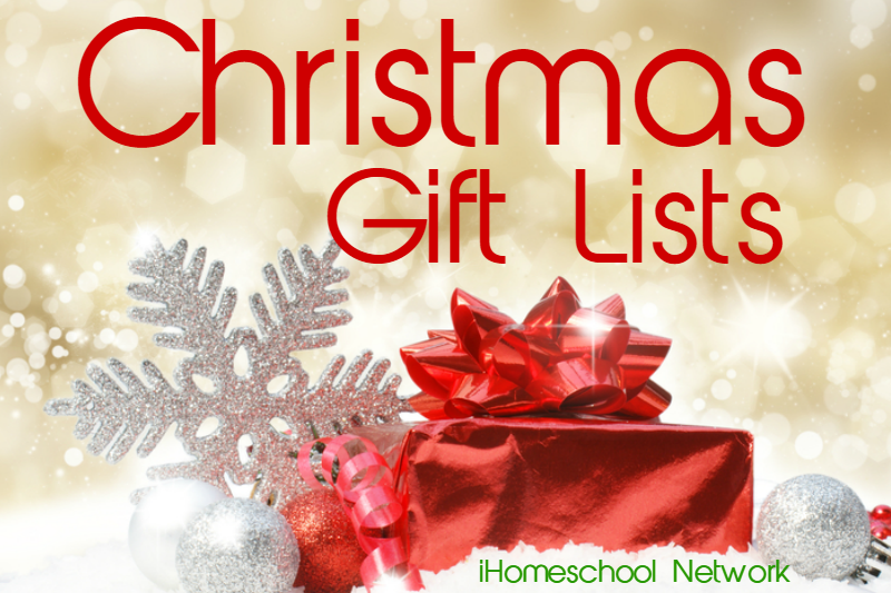 ChristmasGiftLists - iHomeschoolNetwork
