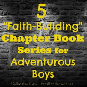 "5 Great ""Faith-Building"" Chapter Book Series for Boys"