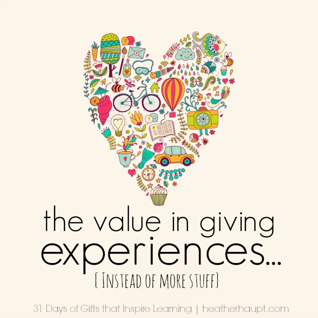 c53952ffa163 Destination themed gifts and the value in giving experiences instead ...