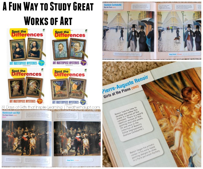 Learn how to study great works of art in a playful and engaging way with this series of books.