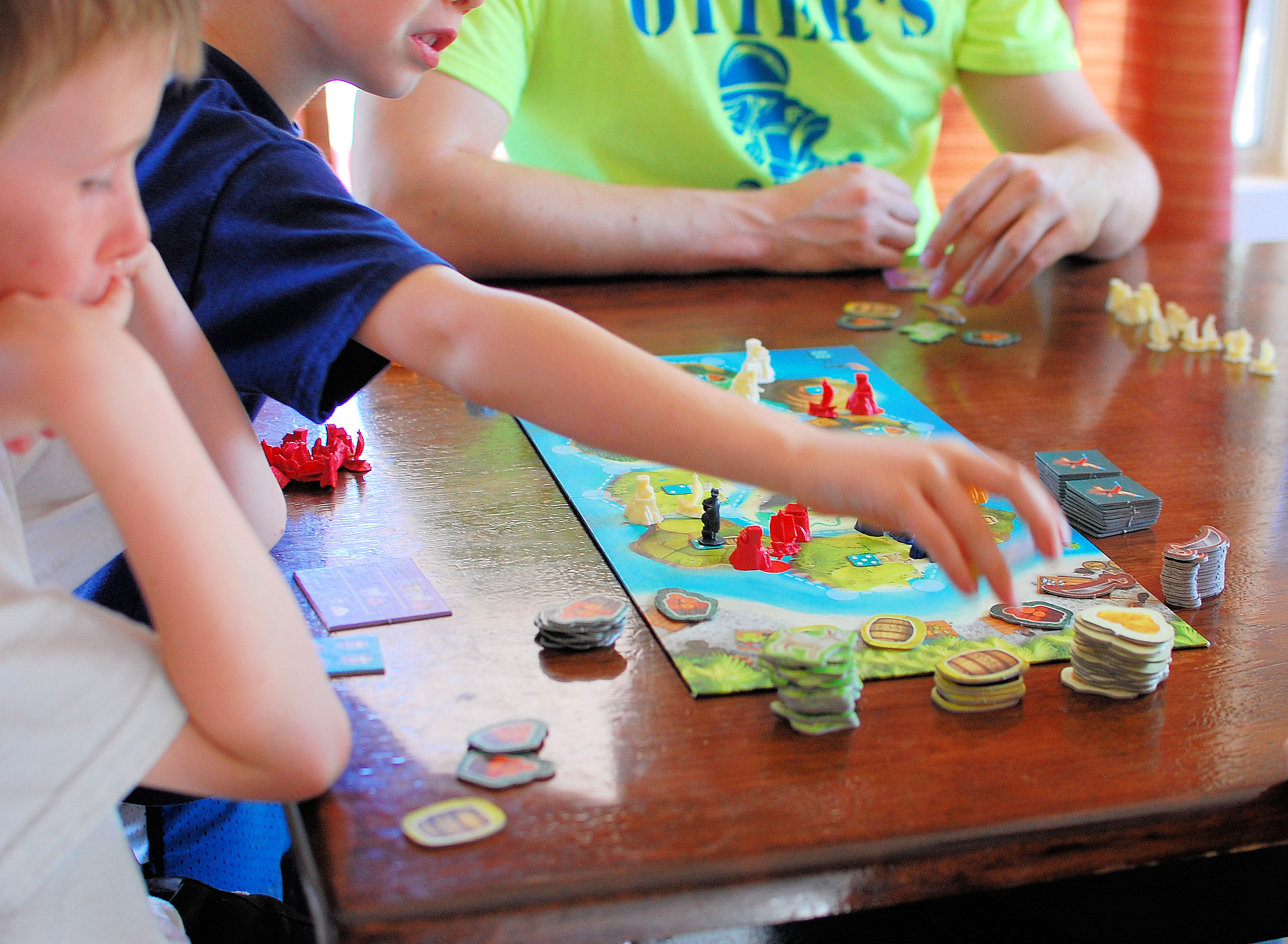 Cataan Junior is an awesome game for 6-10 year olds!