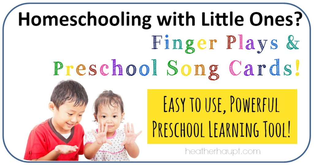 Finger plays and nursery rhymes are a powerful, fun way to learn important skills. Here are 30 cards to make it easy to incorporate this learning into your home.