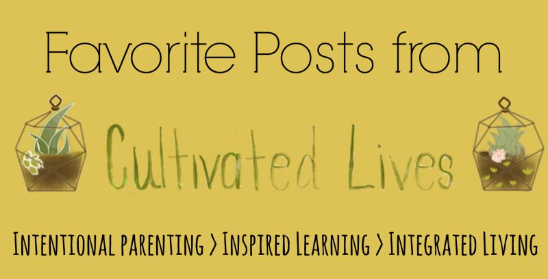 A collection of articles on living cultivated lives as we integrate faith and learning into everyday living.