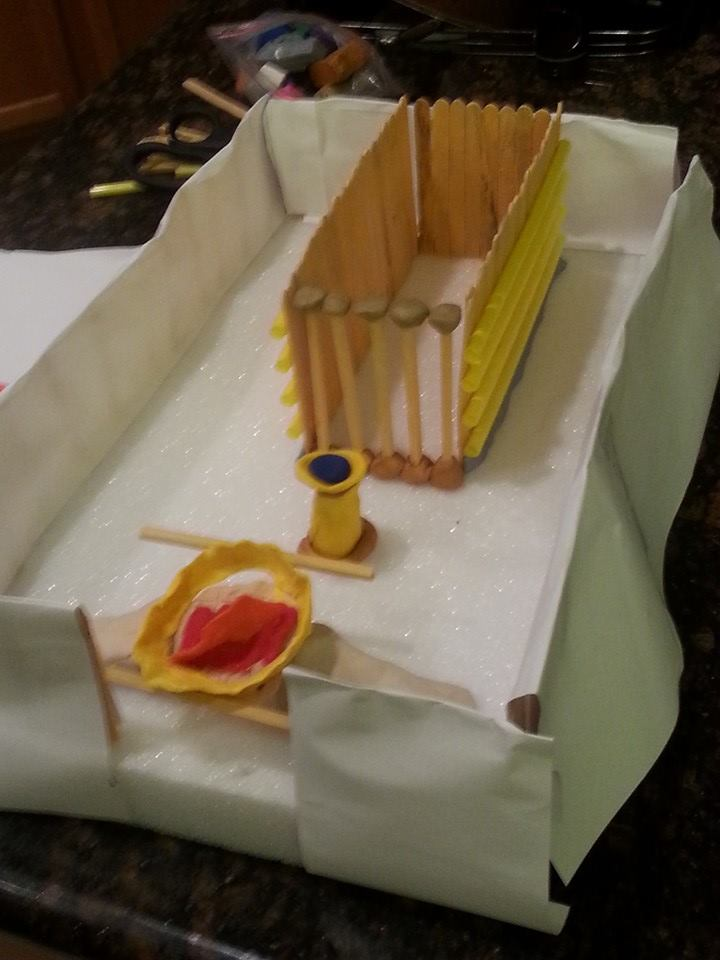 Kid-generated Tabernacle model